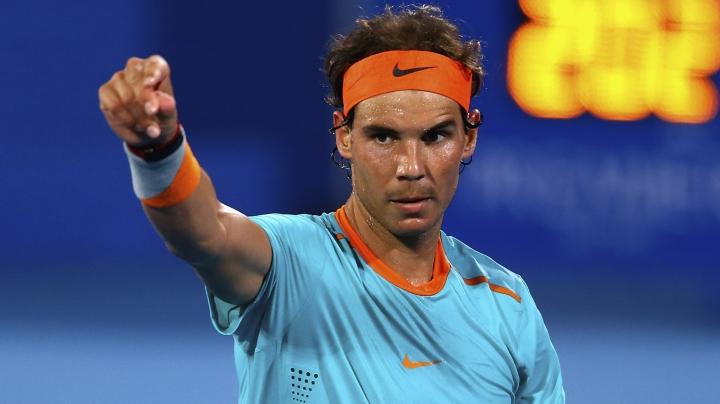 Rafael Nadal, la înălţime! Tenismanul a câştigat competiția de la Abu Dhabi