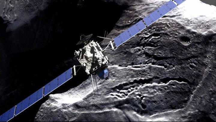 PREMIERĂ în cosmos! DESCOPERIRE ABSOLUT ULUITOARE pe cometa Ciuriumov-Gherasimenko