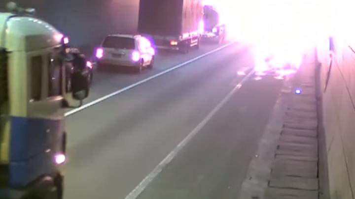 Explozie într-un tunel din Coreea de Sud. Oamenii au SCĂPAT CA PRIN MINUNE (VIDEO)