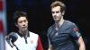Andy Murray şi Kei Nishikori s-au calificat în optimele turneului de la Paris