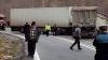 ŞOCANT! O cameră de bord a surprins momentul când două tiruri s-au ciocnit în plină viteză (VIDEO)