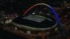 Gest de solidaritate a 90.000 de oameni pe stadionul Wembley. S-a cântat imnul Franţei (VIDEO)