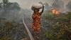 Parcul Național Masivul Merapi, ÎNCHIS! Autorităţile sunt în alertă din cauza incendiilor puternice