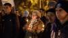 Victimele incendiului de la Bucureşti, comemorate. Sute de tineri s-au adunat în centrul Capitalei