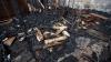 Incendiu în Capitală. O construcţie din lemn de pe strada Ciuflea a ars în această seară (VIDEO)