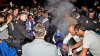 Campionul mondial la MotoGP, Jorje Lorenzo, s-a ars la picior în timp ce sărbătoarea cu fanii (VIDEO)