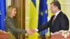 Vizită de rang înalt la Kiev. Şefa diplomaţiei europene se va întâlni cu preşedintele şi premierul Ucrainei