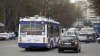POZA DIMINEŢII în traficul din Chișinău. Șoferii nedisciplinați au dat peste cap orarul troleibuzelor