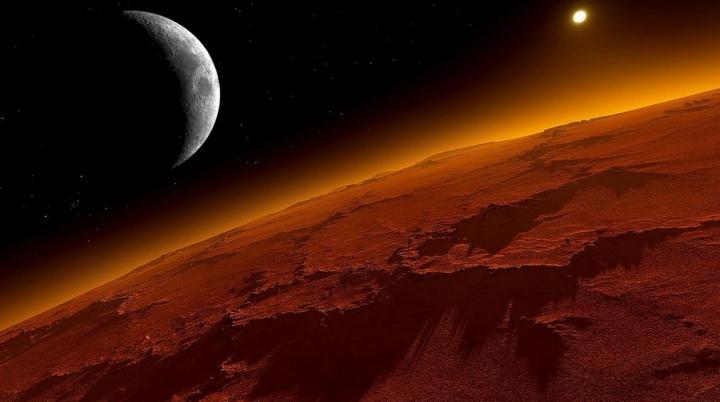 O nouă imagine care a stârnit DISPUTE APRINSE. Descoperirea făcută pe Planeta Marte (FOTO)