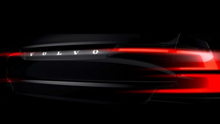 Volvo S90 se pregăteşte de lansare. Primele imagini teaser oficiale prezentate publicului