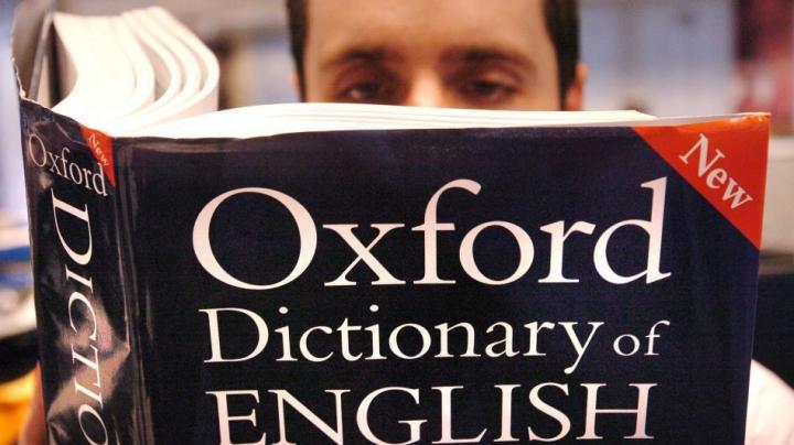 Anunţ surpriză al editorilor Dicţionarului Oxford. Care este cuvântul anului 2015