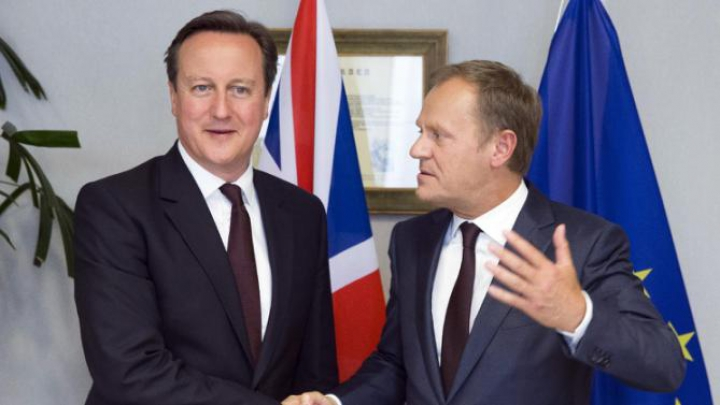 """""""Vor fi foarte dificile"""". Donald Tusk, despre negocierile cu Marea Britanie pentru a nu părăsi UE"""