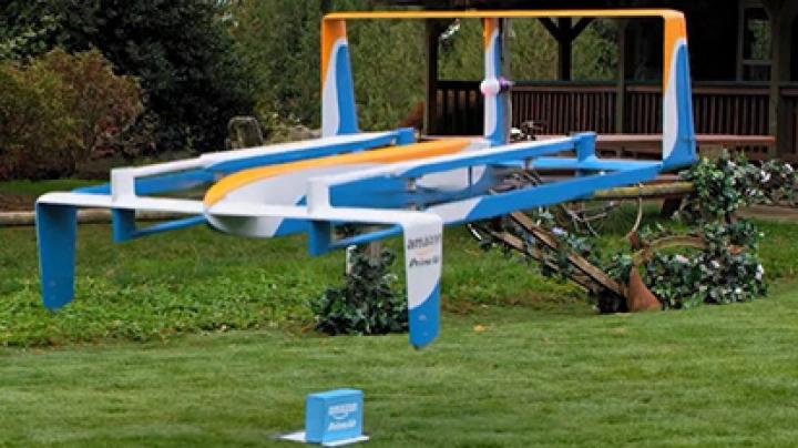 Fostul prezentator de la Top Gear face publicitate sistemului de drone Amazon (VIDEO)