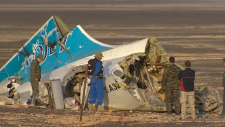 Rusia admite ipoteza unui ACT TERORIST în cazul accidentului aviatic cu 224 de morți