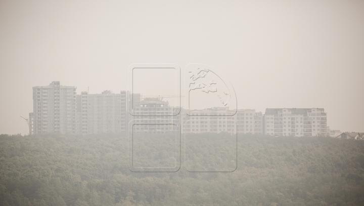 AVERTIZARE METEOROLOGICĂ! Cod Galben de poluare a aerului la Chişinău şi Tiraspol