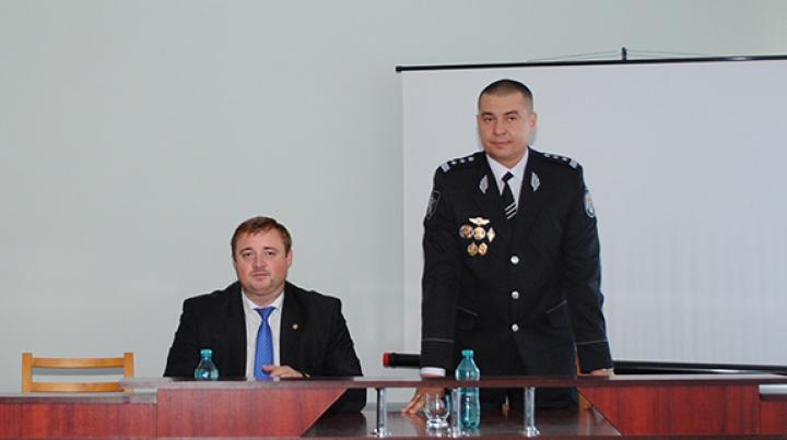 Inspectoratul de poliție Orhei are un nou șef. Cine este acesta