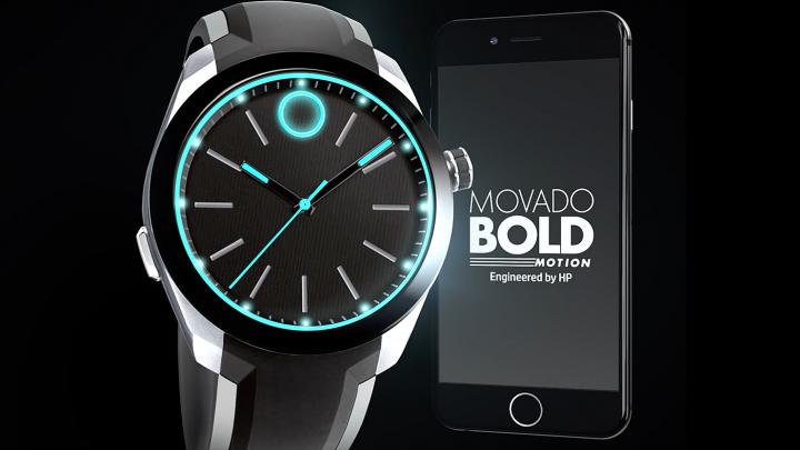 HP Movado BOLD Motion Smartwatch - ceas inteligent cu design inspirat din filmul Tron (VIDEO)