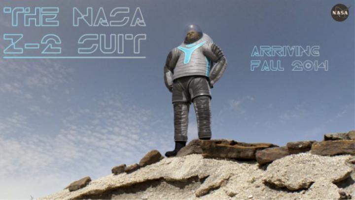 NASA a făcut publice primele imagini cu costumele pe care astronauţii le vor purta pe Marte