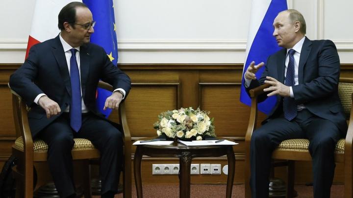 Întâlnirea cu Hollande: Putin INSISTĂ să fie respectate acordurile de la Minsk