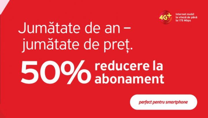 (P) Cu abonamentele Smart de la Unite, comunici jumătate de an la jumătate de preţ