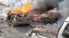 S-a evitat o mare tragedie. 15 atacuri sinucigașe cu mașini capcană, DEJUCATE