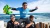 Nebunie în Sao Paolo! Sute de brazilieni l-au întâmpinat pe campionul mondial de surf, Adriano De Souza