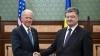 SUA ameninţă Rusia cu noi sancţiuni. AVERTISMENTUL rostit de Joe Biden în Rada Supremă de la Kiev