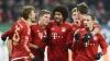 Distracţie înainte de Crăciun! Jucătorii Bayern Munchen s-au transformat în artişti de circ (VIDEO)