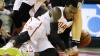 Partidă cu scântei în NBA. Un baschetbalist şi-a pierdut un dinte şi a încercat să-l ascundă în ciorap