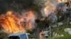 Incendiile fac ravagii în nordul Spaniei. Autorităţile spun că s-a pus foc intenţionat