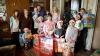 Premieră pentru o familie cu 10 copii din Drochia. Ce daruri a primit din partea Edelweiss (FOTOREPORT)