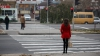 NENOROCIRE! O femeie a fost lovită de o mașină în apropierea unei treceri de pietoni din Capitală
