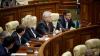 Discuţii aprinse în Parlament după ce Voronin a felicitat moldovenii cu aniversarea a 100 de ani de la  Revoluția socialistă
