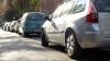 Trafic PARALIZAT pe strada Vasile Lupu. La fața locului a intervenit poliția de patrulare (FOTO)