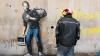 Drama refugiaţilor, în atenţia artistului Bansky. Ce a vrut să spună, desenându-l pe Steve Jobs