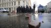 Neputincioşi în faţa maselor. Peste 60 de polişti, răniţi pe străzile oraşului Leipzig