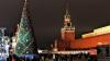 Back în URSS! Cum a fost decorat principalul brad al rușilor