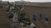 Minele de teren fac victime în Donbas: Doi militari ucraineni au murit, iar alţi cinci au fost răniţi