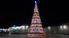 NU este la Chişinău, Orhei sau Bălţi! Cum arată pomul de Crăciun dintr-un sat din sudul ţării (VIDEO)