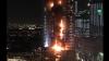 PANICĂ ÎN DUBAI. Incendiu uriaș la un hotel cu câteva ore înainte de anul nou. Locatarii, evacuați