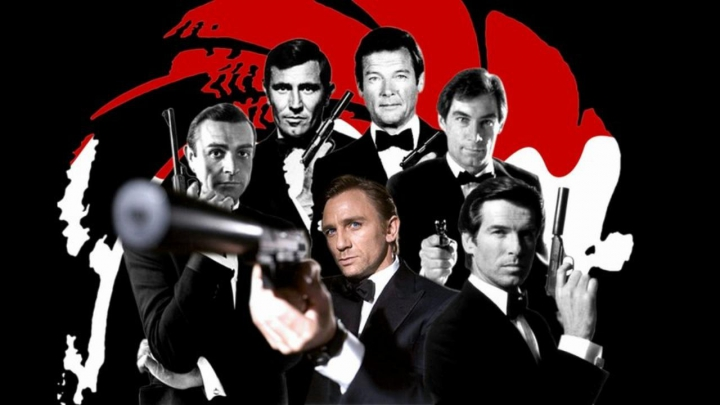 TOP cele mai populare piese muzicale din celebrele filme cu James Bond