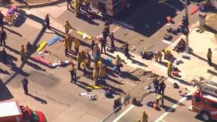 ATAC ARMAT într-un oraş din California. Sunt CEL PUŢIN 20 DE VICTIME (FOTO/LIVE VIDEO)