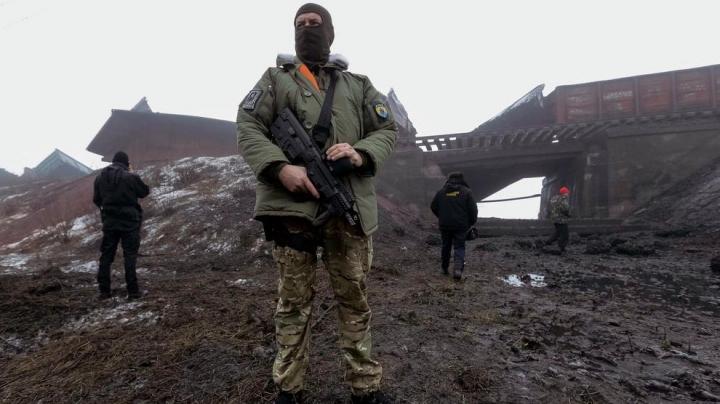 Luptele au reînceput în estul Ucrainei. Un soldat a murit în ultimele 24 de ore