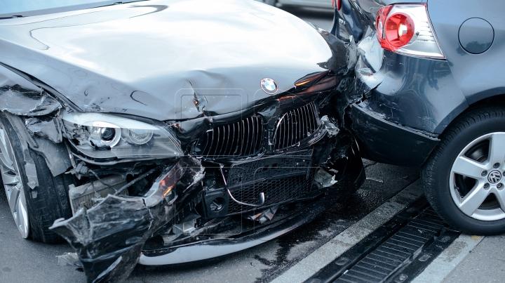 Accident rutier pe centura de ocolire a municipiului Bălți. O persoană, transportată la spital (VIDEO)