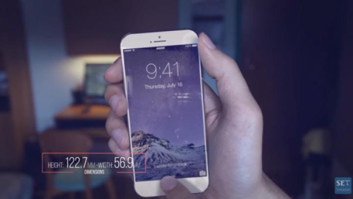 Concept SPECTACULOS: Cum ar putea arăta iPhone 7 Air VIDEO
