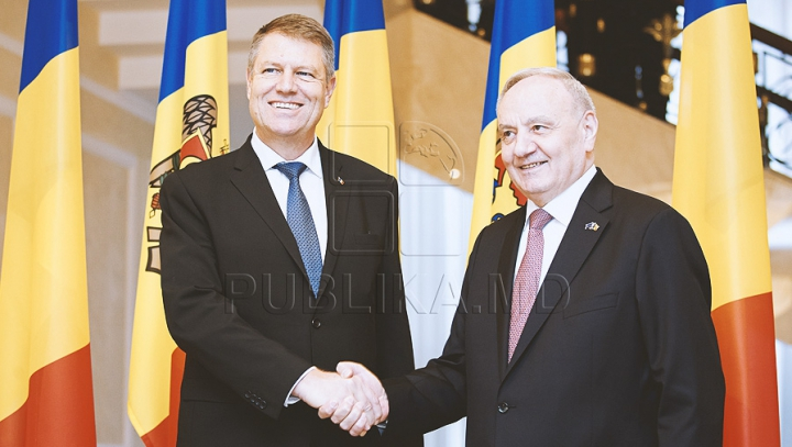Mesajul preşedintelui Nicolae Timofti pentru Klaus Iohannis cu ocazia Zilei Naţionale a României