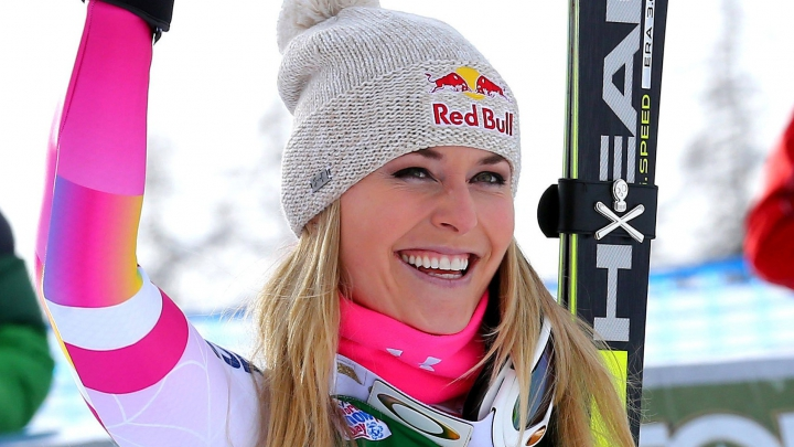 Lindsey Vonn, lider după prima zi a competiţiei din cadrul Cupei Mondiale de schi alpin