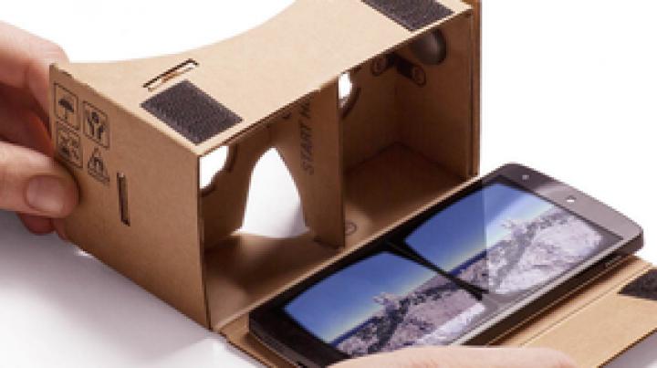 Experienţă inedită! Google lansează noua aplicaţie Cardboard