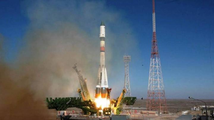 Capsula rusească Progress a fost lansată în spaţiu. Ce transportă vehiculul pentru astronauţii de pe ISS