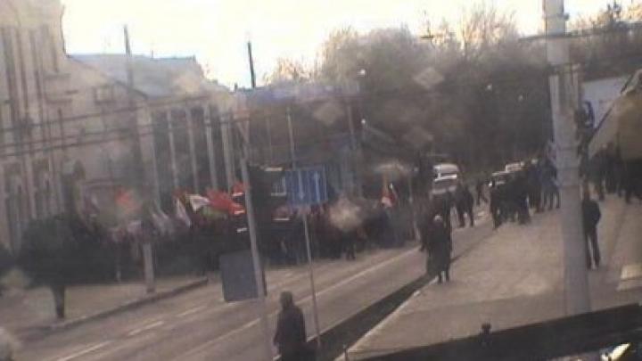 Tulburări politice la Tiraspol. Perdanţii în alegerile de duminică ies în stradă (FOTO)